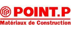 logo Point P matériaux de construction
