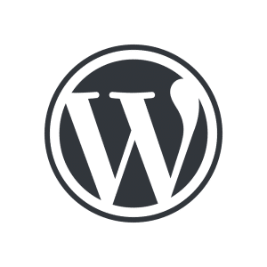 le pictogramme wordpress