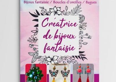 Flyer A5 bijoux fantaisies