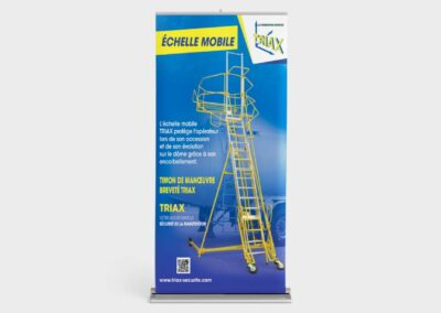 Roll-up pour Triax