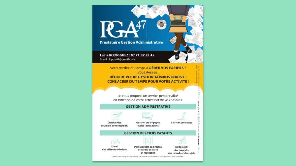 flyer pour reduire sa gestion administrative
