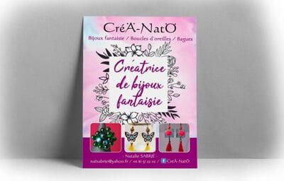 Flyer pour Créa-Näto