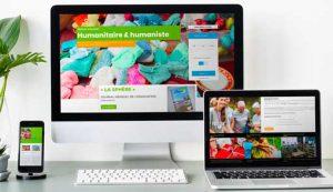 responsive design d'un site internet