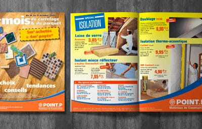 Brochure « POINT P » spécial isolation