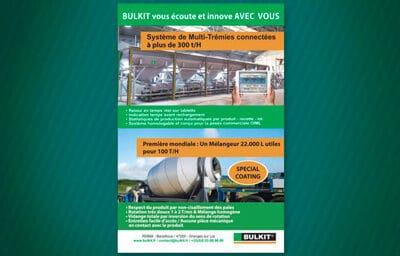 Encart publicitaire pour Bulkit