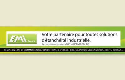 Encart publicitaire pour Emi France