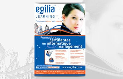 Flyer pour Egilia Learning