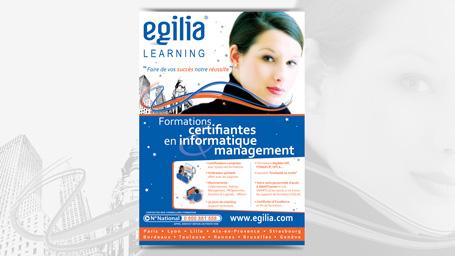 Flyer pour Egilia Learning