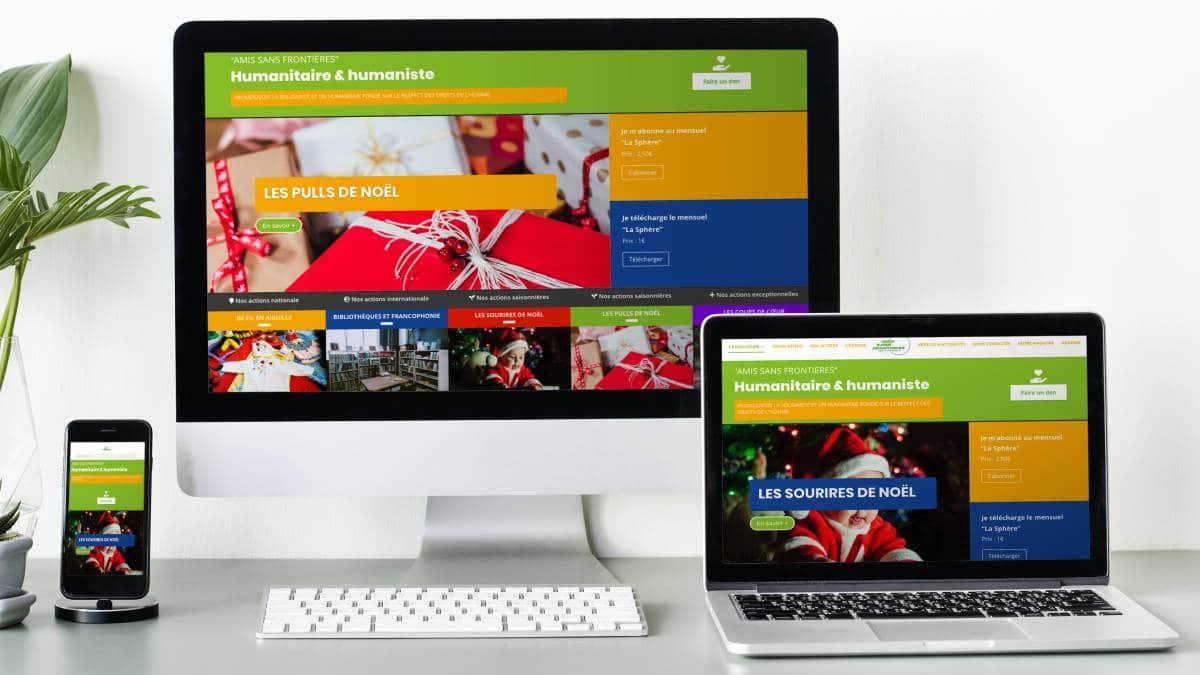 création Sites internet wordpress 1
