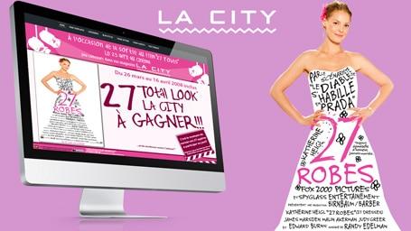 presentation site boutique sur un ecran
